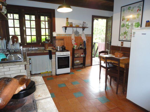 cozinha casa de campo em maca de cima